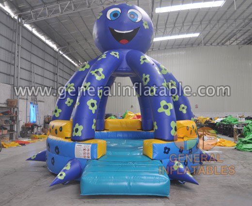 GB-402 Octopus bounce house GB-402