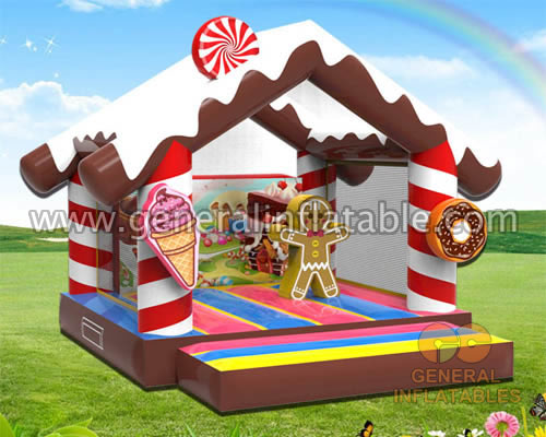 GB-442 Candy bounce house GB-442