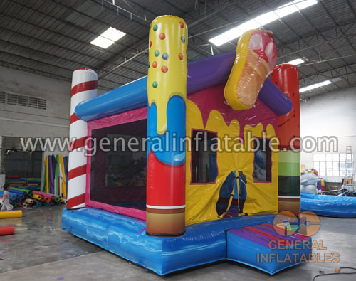GB-447 Icecream bounce house