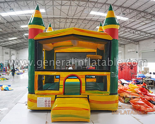 GC-171 Mini bounce house with basketball GC-171