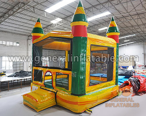 GC-171 Mini bounce house with basketball hoop