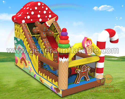 GS-270 Inflatable candy slide GS-270